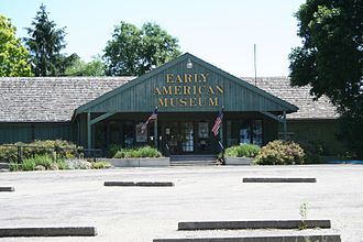Mahomet, Illinois - Image: Early American Museum Lake of the Woods Mahomet Illinois
