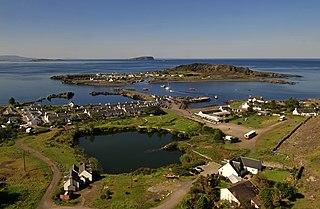 Slate Islands island group in the Inner Hebrides