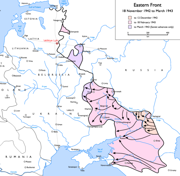 an overview of the battle of stalingrad after the losses of operation barbarossa