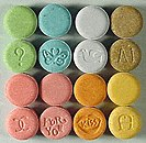 Image of Ecstasy tablets