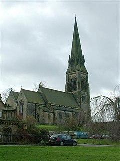 St Peters Church, Edensor Church in Edensor, England