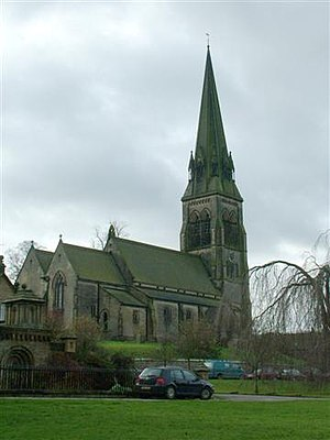 St Peter's Church, Edensor
