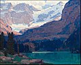 Edgar Payne View of the Glacier and Palisades, Rockies.jpg