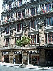 Paris building, neoclassic style
