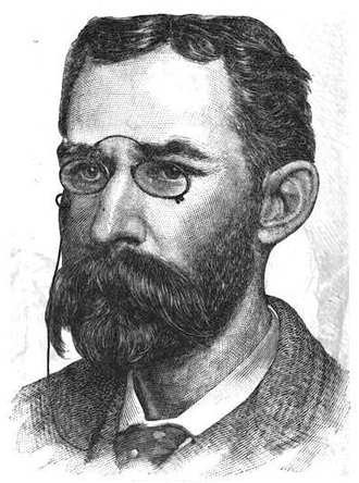 Edward Burgess (yacht designer) - Edward Burgess, ca.1887