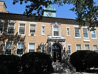Coolidge Corner School - Image: Edward Devotion School, Brookline MA