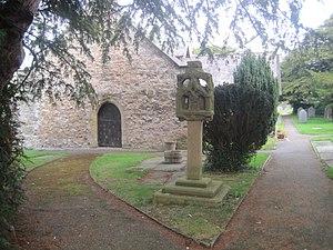 Tremeirchion - Image: Eglwys Corpus Christi, Tremeirchion Sir Ddinbych Church Denbighshire, North Wales 04