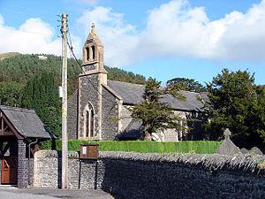 Llanafan Ceredigion Wikipedia