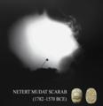 Egyptian Netert Mudat Scarab Aspergillus Spore.png