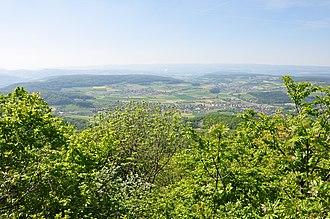 Surbtal - Ehrendingen and Lengnau towards Leibstadt