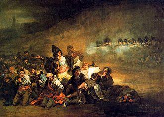 Eugenio Lucas Velázquez - Image: El fusilamiento 1869