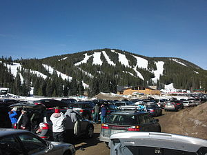 Eldora, Colorado - Eldora Mountain Resort and Challenge Mountain.