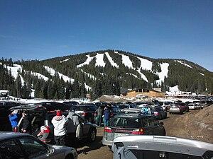 Eldora, Colorado - Eldora Mountain Resort and Challenge Mountain.