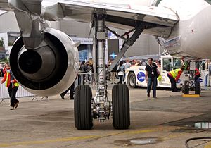 Safran - Electric Green Taxiing System made with Messier-Bugatti-Dowty.