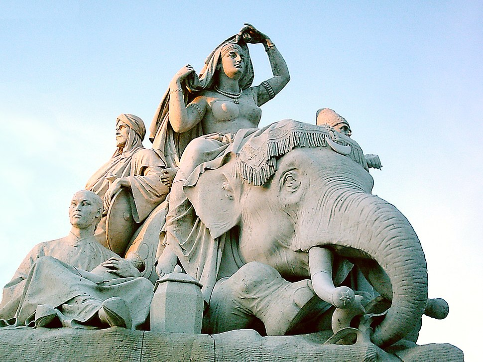 Elephant sculpture London