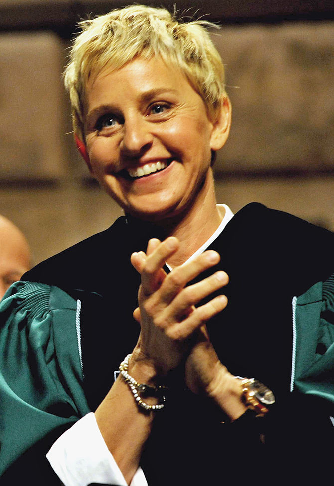 English: Ellen DeGeneres in 2009.