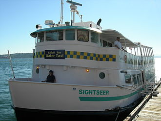 King County Water Taxi - The Sightseer served as the second Elliott Bay Water Taxi.