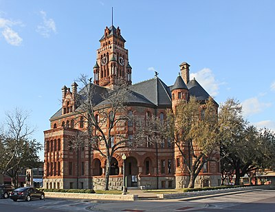 Ellis County Courthouse Historic District, Waxahachie