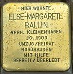Ellrich-Stolperstein-Else-Margarete-Ballin-CTH.JPG