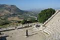 Elymian stone theatre Segesta.jpg