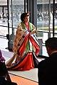 Empress Masako wearing Jyūnihitoe.jpg