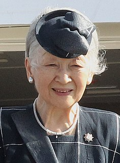 Wife of Akihito, the 125th Emperor of Japan