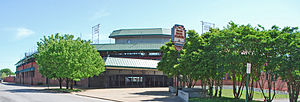 Engel Stadium - Image: Engel Stadium Chattanooga