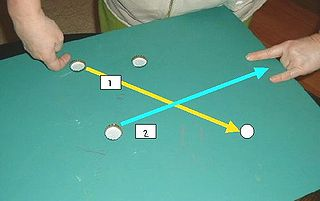 Penny football Tabletop coin game