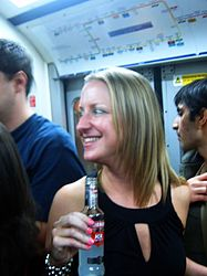 Enjoying a drink at the Circle Line Party (2540702778).jpg