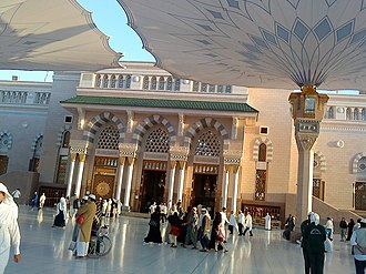 Al-Masjid an-Nabawi - Image: Entrance Nabvi Mosque