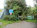 Entrance to Breconshire Usk Fishery, Brecon - geograph.org.uk - 2607349.jpg