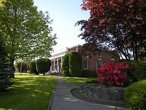 Enumclaw, Washington - City Hall and Municipal building