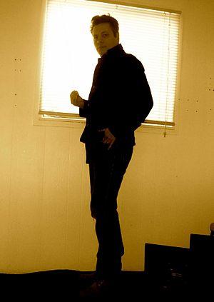 Eric Matthews (musician) - Matthews at his home in 2012