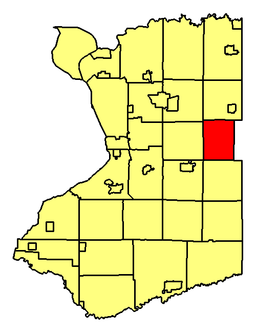 Location of Marilla in Erie County