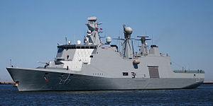 MV Beluga Nomination incident - HDMS Esbern Snare