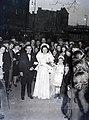 Esküvői csoportkép, 1946 Budapest. Fortepan 105217.jpg