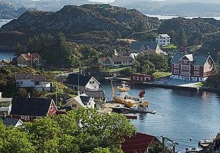 Sunnhordland District in Vestland, Norway