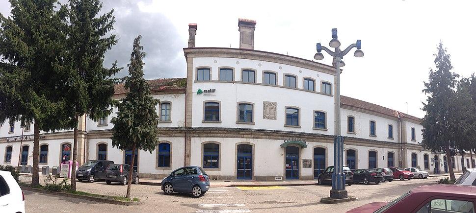 Estación Monforte de Lemos