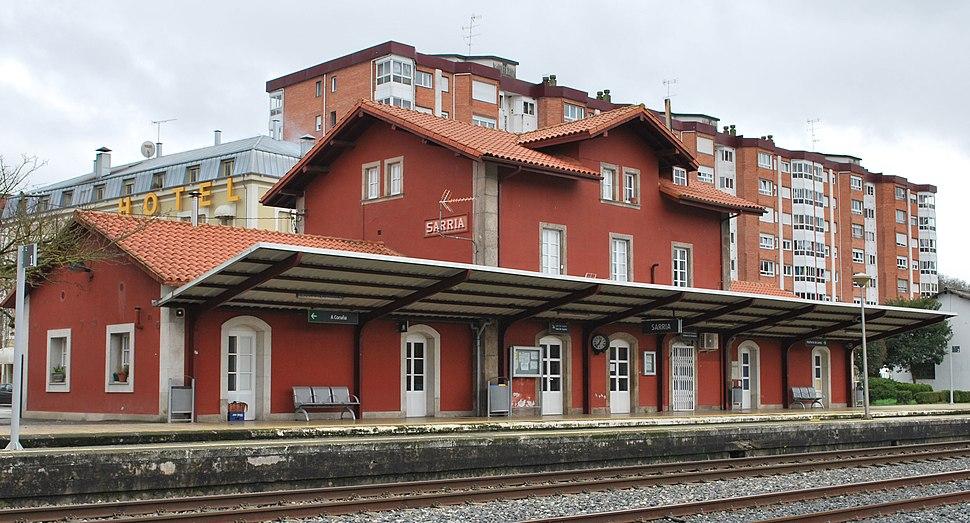 Estación de Sarria Lugo Galiza