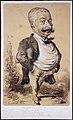 Etienne carjat, caricatura di un uomo, 1859.jpg