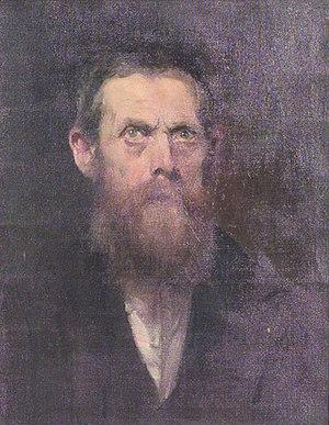 Eugene de Blaas - Eugen von Blaas-authoritratto