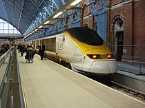 Eurostar at St Pancras railway station.jpg
