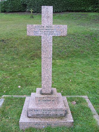 Evelyn Wood (British Army officer) - Wood's grave in Aldershot Military Cemetery