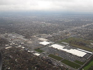 Evergreen Park, Illinois - Image: Evergreen Plaza, Evergreen Park, Illinois