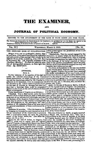File:Examiner, Journal of Political Economy, v2n16.djvu
