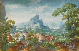 Frans Boels Flemish painter