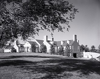 Bellerive Country Club - Clubhouse in 1960