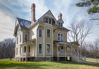National Register of Historic Places listings in Branch County, Michigan - Image: Ezra E. and Florence (Holmes) Beardsley House