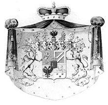Fürstliches Wappen, 1803 (Quelle: Wikimedia)