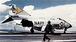 F-4J of VF-103 landing on USS Saratoga (CVA-60) in 1970.jpg